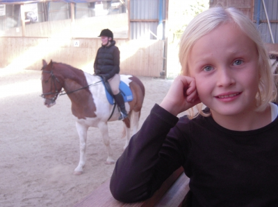 Anna 8 years old now